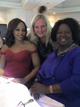 Tracey Moore, Leslie and Dr. Jean Augustine